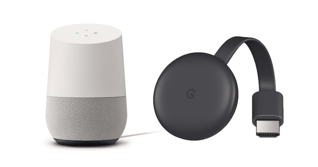 google home chromecast