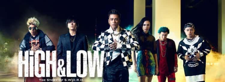 hulu オリジナルドラマ high&low