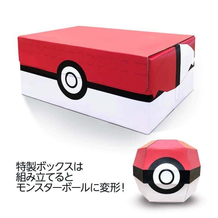 ポケモン剣盾 特製ボックス