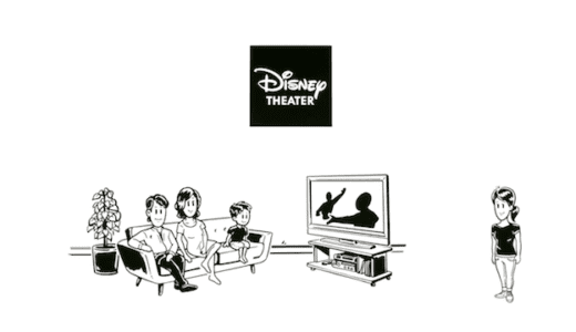 ディズニープラスをテレビで見る方法は?4パターンをやさしく解説