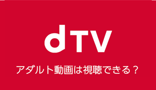 dTVでアダルト動画を視聴する方法はある?こっそり楽しむ方法は?